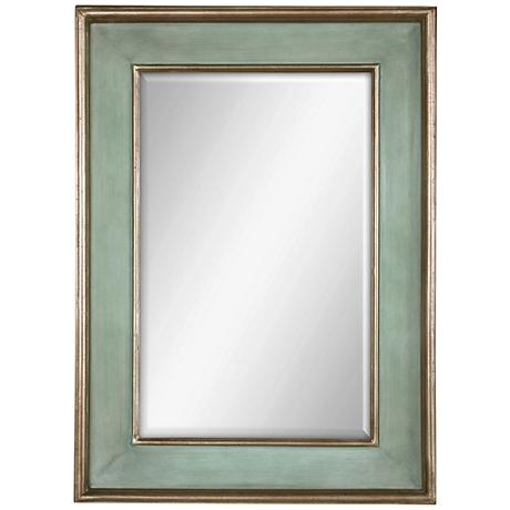 "Uttermost Ogden 37"" High Wall Mirror"