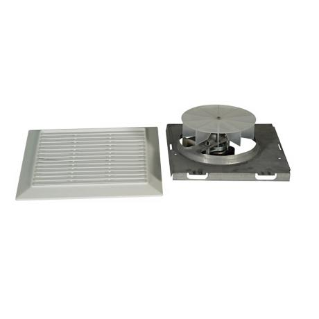 White Finish  Exhaust Fan Motor  and Trim