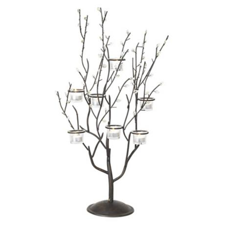 Twig and Leaf Candelabra