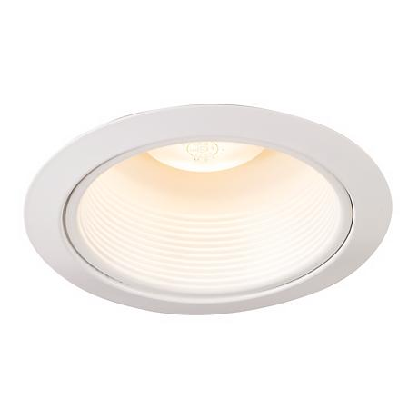 "Juno 5"" White Baffle and Trim Recessed Light"