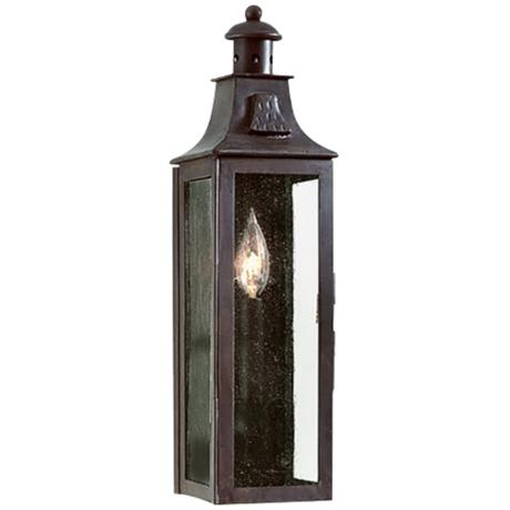 "Newton Collection 17 1/2"" High Outdoor Wall Lantern"