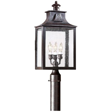 "Newton Collection 23"" High Outdoor Post Light"