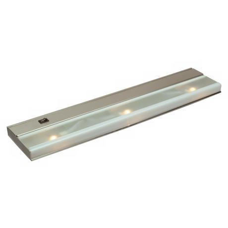 "Kichler 21 1/2""WideXenon Stainless Steel Under Cabinet Light"