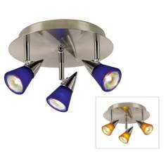 Pro Track® 150 Watt Three Light Halogen Ceiling Fixture