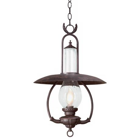 "La Grange 26 1/2"" High Outdoor Hanging Lantern"