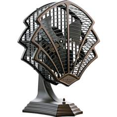 Fanimation Fitzgerald Oil Rubbed Bronze Desk Fan or Wall Fan
