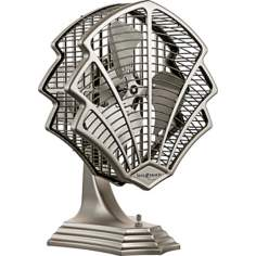 Fanimation Fitzgerald Satin Nickel Desk Fan or Wall Fan