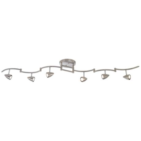Pro Track® 300 Watt Six Light Swing Arm Light Fixture