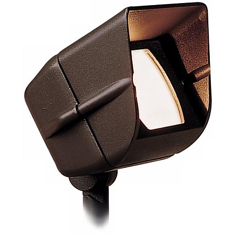 Kichler Architectural Bronze Landscape Mini Wide Flood Light