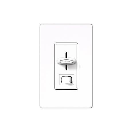 Lutron Skylark 600w Single Pole Preset White Dimmer