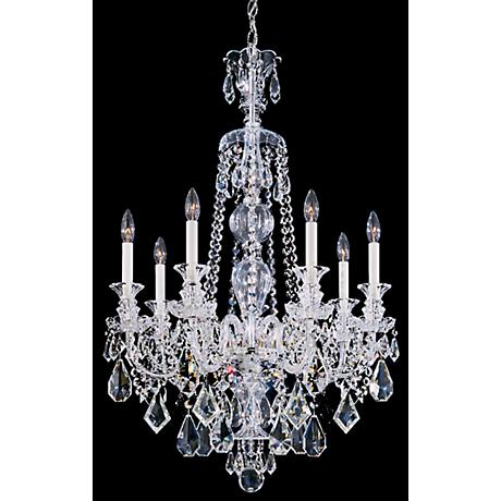 Schonbek Heritage Crystal Seven Light Chandelier