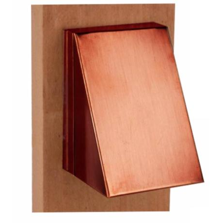 Solid Copper Outdoor Patio Deck Stair Step Light