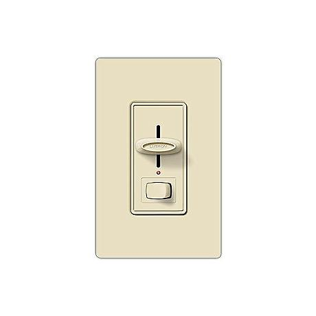 Lutron Skylark Single Pole Preset Light Almond Slide Dimmer