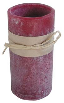 Red Rasberry Scent Battery Powered LED Candle