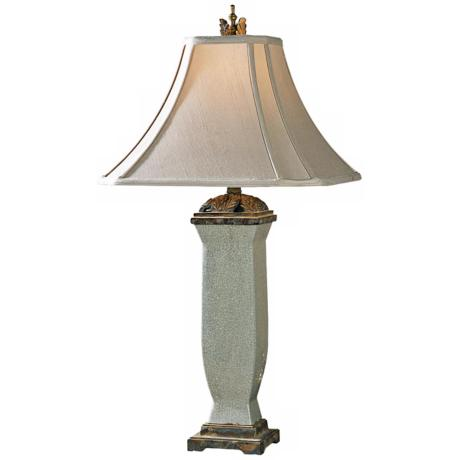 Uttermost Reynosa Mottled Porcelain Table Lamp