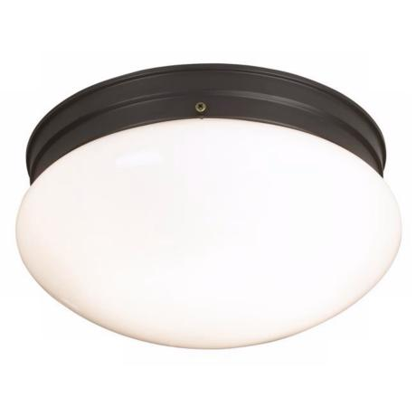 "Mushroom Bronze 10 7/8"" Wide Ceiling Light Fixture"