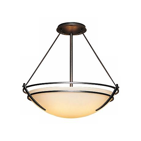 "Hubbardton Forge Presidio 18"" Wide Ceiling Light Fixture"