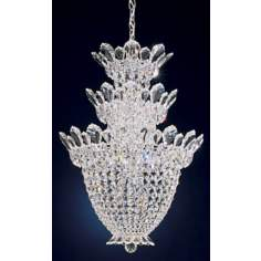 Schonbek Trilliane Collection 3-Tier Crystal Foyer Pendant