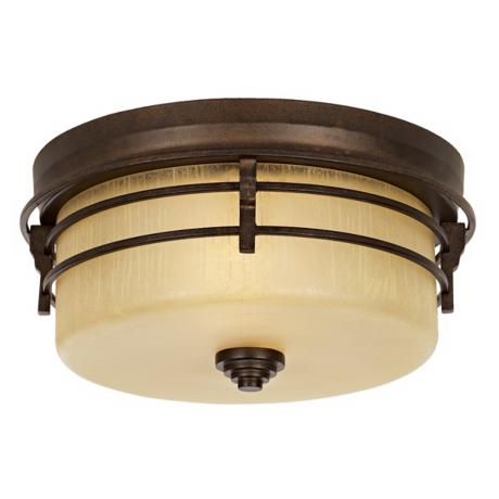 "Arroyo Park 14"" Wide Indoor - Outdoor Ceiling Light"