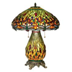 Robert Louis Tiffany® Dragonfly Night Light Table Lamp