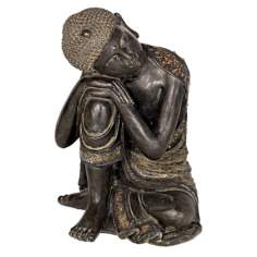 Sleeping Buddha Accent Sculpture