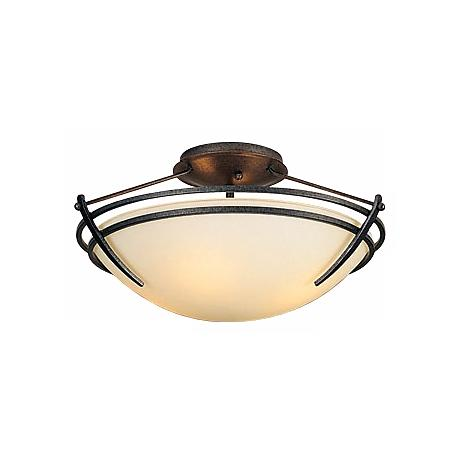 "Hubbardton Forge Presidio 15"" Wide Ceiling Light Fixture"