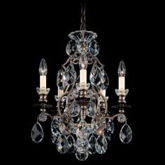 "Schonbek Renaissance Collection 14 1/2"" Crystal Chandelier"