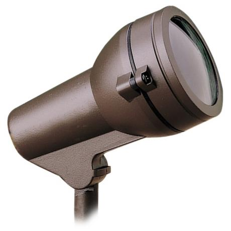 "Kichler Architectural Bronze 4"" Wide Landscape Accent Light"