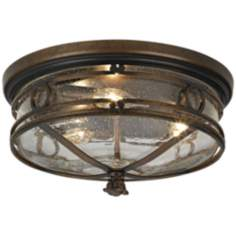 "Beverly Drive 14"" Wide Indoor - Outdoor Ceiling Light"