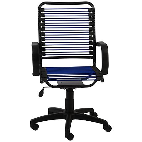 Bradley Blue Bungie Black Graphite Office Chair