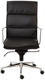 Leif High Back Black Faux Leather Office Chair (6D039) 6D039