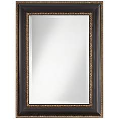 "Uttermost Addyson 30"" x 40"" Bronze Wall Mirror"