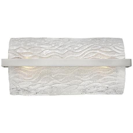"Hinkley Chloe 17"" Wide Brushed Nickel Bath Light"