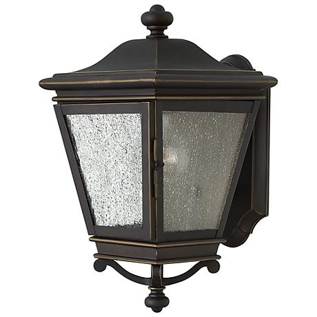 "Lincoln 13 3/4"" High Oil Rubbed Bronze Outdoor Wall Light"