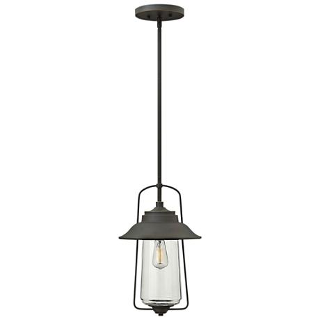 "Hinkley Beldenplace 10"" Wide Bronze Outdoor Hanging Light"