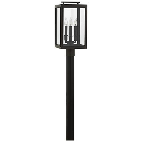 "Sutcliffe 20"" High Oil Rubbed Bronze Outdoor Post Light"