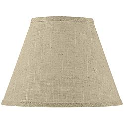 Fine Burlap Empire Shape 6x12x9 (Spider)