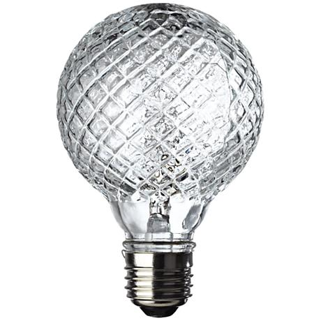 Westinghouse 40 Watt Faceted Halogen G25 Globe Vanity Bulb