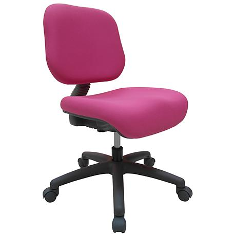 Felicity Pink Adjustable Youth Task Chair