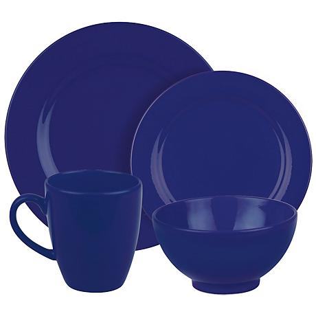 Fun Factory Royal Blue 16-Piece Place Setting