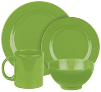 Fun Factory Green Apple 16-Piece Place Setting (6J575) 6J575