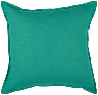"Vibrant Turquoise 20"" Square Throw Pillow (6J898) 6J898"