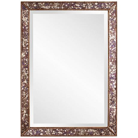 "Howard Elliott Samuel Acid Treated 24"" x 34"" Wall Mirror"