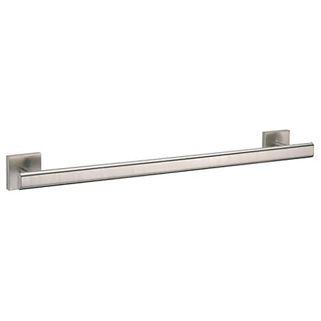"Gatco Elevate 24"" Wide Satin Nickel Towel Bar"
