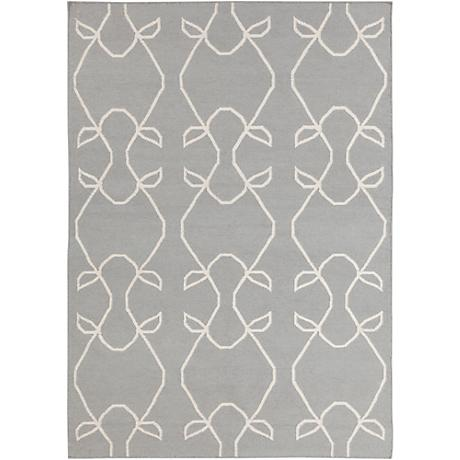 Chandra Lima LIM25706 Gray Wool Area Rug