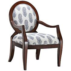 Acuna New Delhi Royal Fabric Accent Armchair