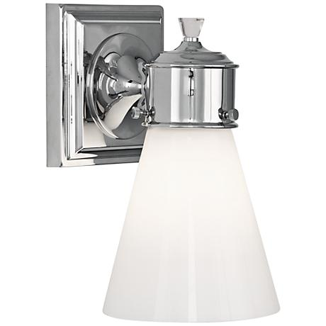 "Blaikley 9 3/4"" High Polished Chrome Wall Sconce"