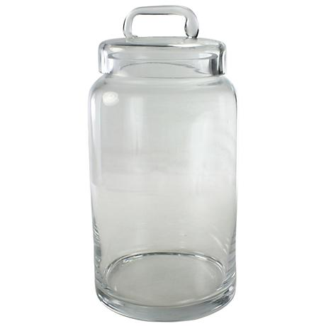 Smith Medium Clear Glass Container