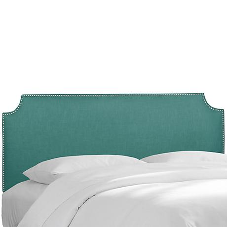 Madison Linen Laguna Queen Headboard