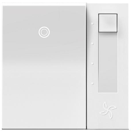 Adorne White Fan Control Switch with Status Light